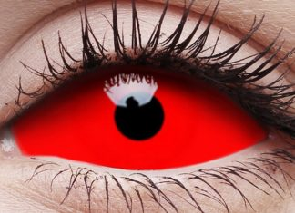 Halloween Sclera Contact Lense