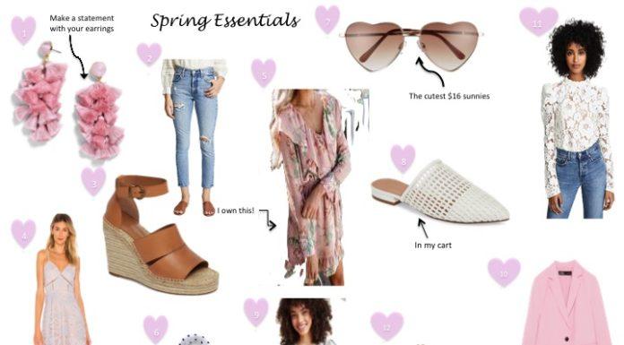 Wardrobe Spring Essentials