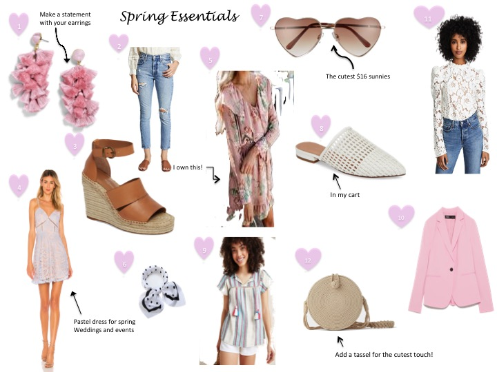 Wardrobe Spring Essentials