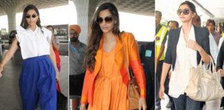 Celebrities Airport Look