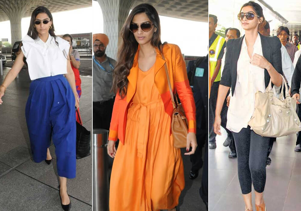 Celebrities Airport Look