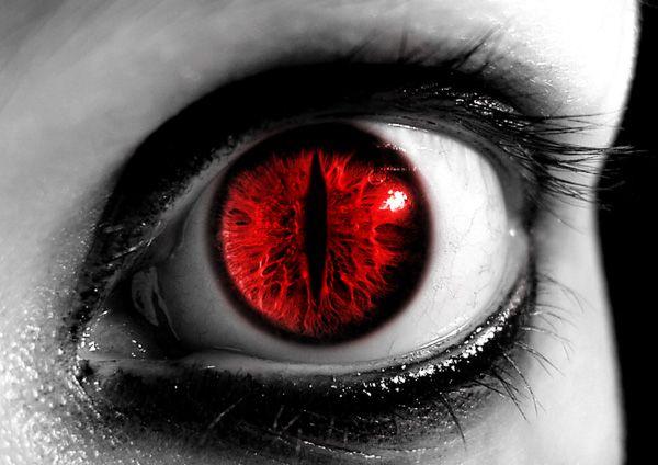 Evil Spirits Halloween Contact Lenses