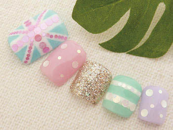 Ready made Nail Art 1