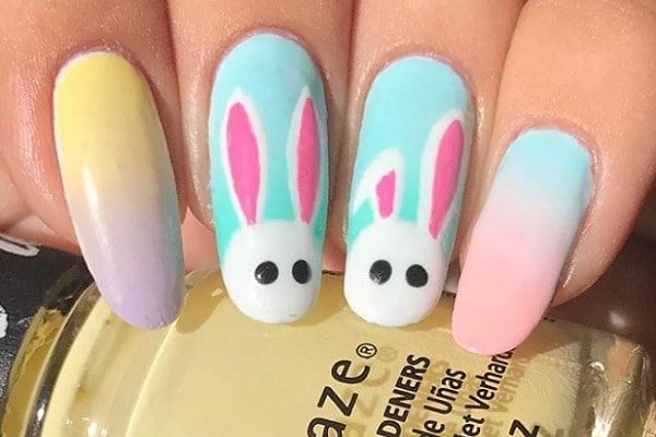 Easter Bunny Nail Paint